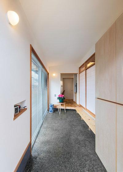 和室・和風 玄関 by 荒川建築設計室