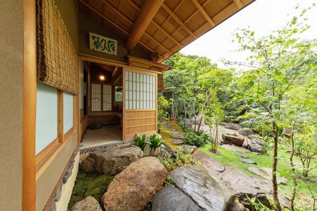 アジアン 玄関 by 椿建築デザイン研究所Tsubaki&Associates