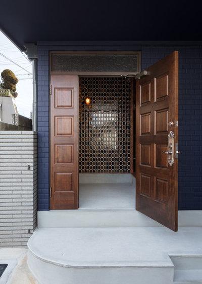 玄関 by SQOOL一級建築士事務所