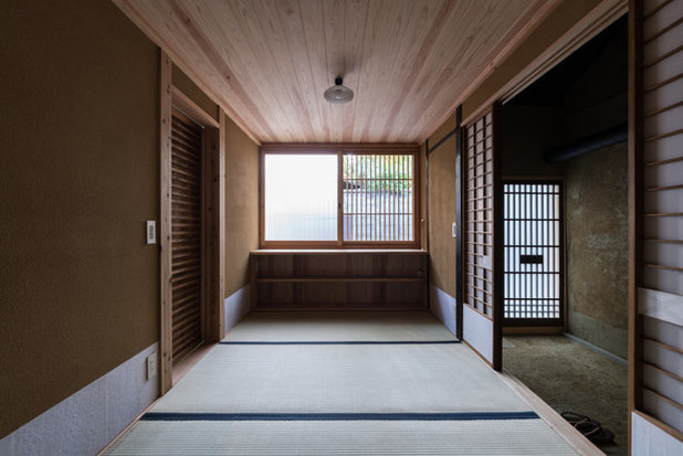 和室・和風 玄関 by 京都の建築家 森田一弥建築設計事務所