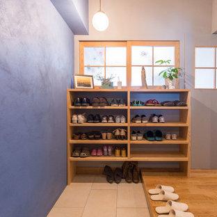 名古屋のエクレクティックスタイルのおしゃれな玄関の写真