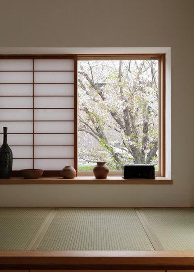 和室・和風 縁側・ポーチ by ATELIER TAMA アトリエ珠一級建築士事務所