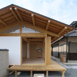 京都の和風のおしゃれな縁側・ポーチの写真