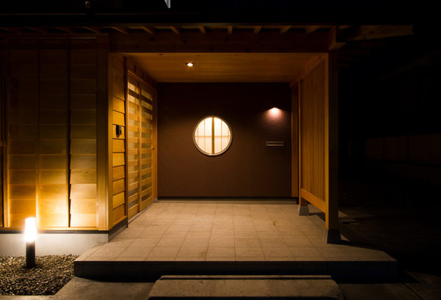 和室・和風 縁側・ポーチ by 稲沢設計室
