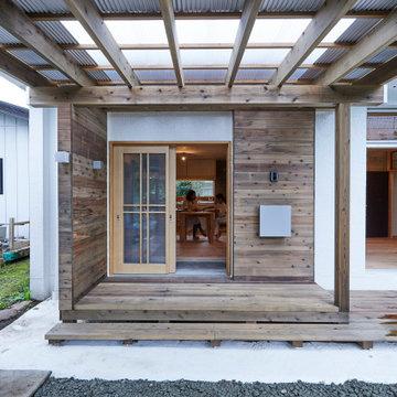HOUSE / O #4(リノベーション) タイニーハウス / 玄関 / 縁側 / ポーチ / 外観