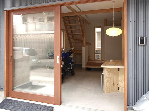 ミッドセンチュリー 縁側・ポーチ by 志田茂建築設計事務所