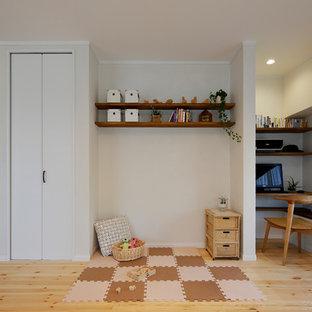 他の地域の北欧スタイルのおしゃれな赤ちゃん部屋の写真