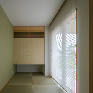Inspiration for a zen nursery remodel in Other