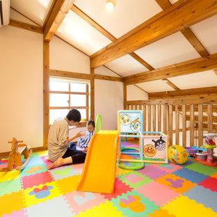 名古屋のアジアンスタイルのおしゃれな赤ちゃん部屋の写真