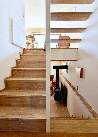 北欧 階段 by 清建築設計室