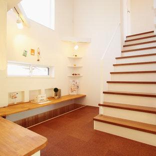 他の地域の和風のおしゃれな階段の写真