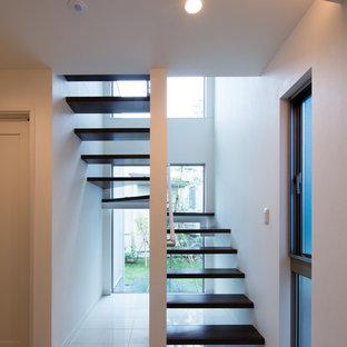 光を取り込む2階リビング