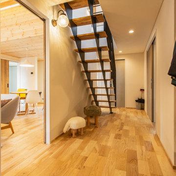 北欧スタイル 1.5階の暮らし