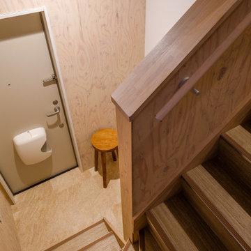 十条の家(ウロコ壁が特徴的な自然素材のリノベーション)