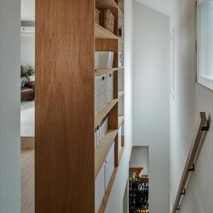 Shabby Chic Holz shabby-chic-style treppen mit holz-setzstufen ideen, design & bilder