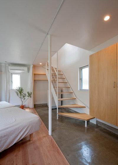 Modern Staircase by 一級建築士事務所 水石浩太建築設計室