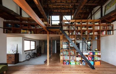 新しさと古さが交差する、神戸大倉山の家