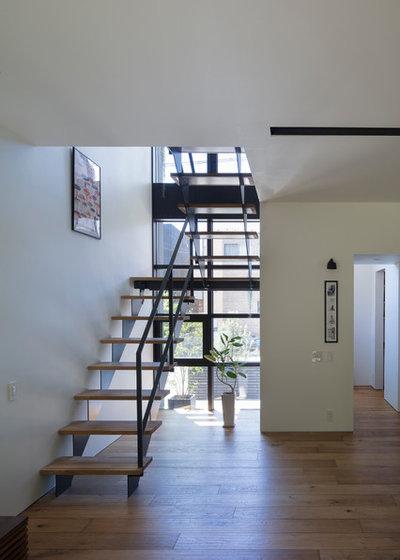 ラスティック 階段 by 株式会社 直井建築設計事務所
