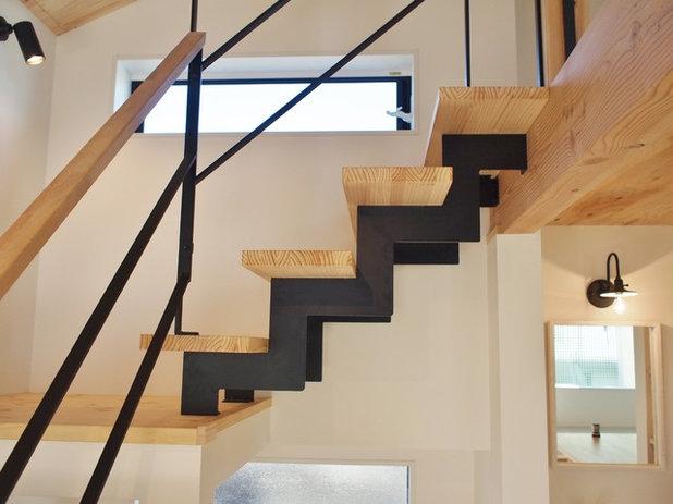 北欧 階段 by ユウ建築設計室