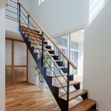深軒の家 階段