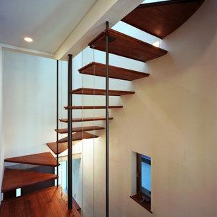 登り梁の家