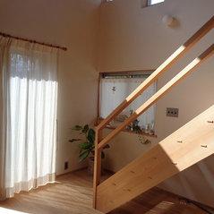 納品例:光が綺麗なカーテン
