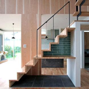 美しい階段の風景