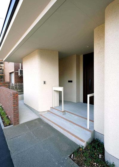 モダン 階段 by アウラ建築設計事務所