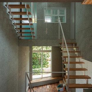 他の地域, のコンテンポラリースタイルのおしゃれな階段の写真