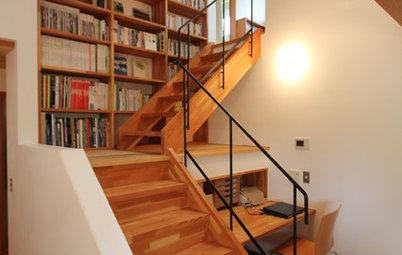 無駄なく使う階段まわりのアイデア収納