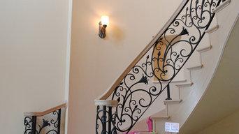 階段手すり らせん階段
