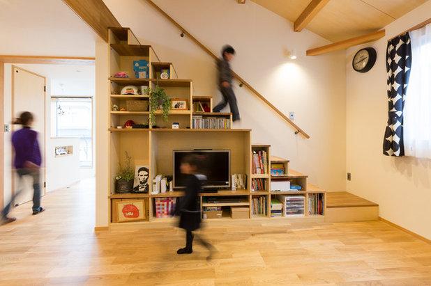 エクレクティック 階段 by Design Renovation Studio  リノクラフト