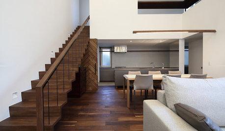 階段の安全性を高めるディテール