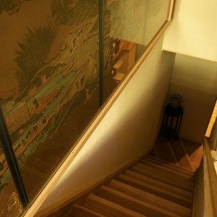 京都の和風のおしゃれな階段の写真