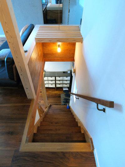 ミッドセンチュリー 階段 by 志田茂建築設計事務所