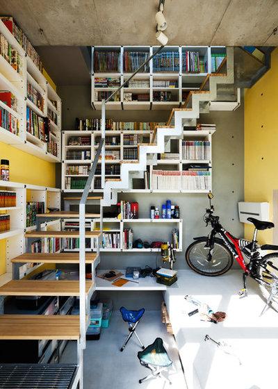 インダストリアル 階段 by YUUA建築設計事務所