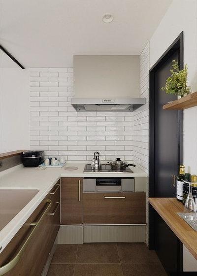 Лофт Кухня by stylekoubou
