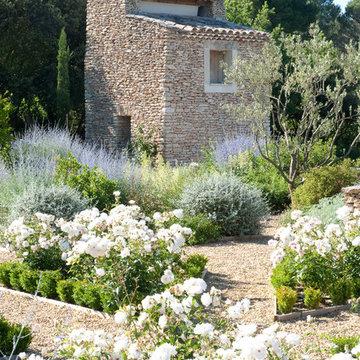 Provencal private garden