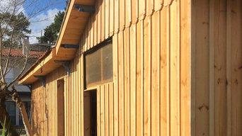 Rénovation cabane ostréicole