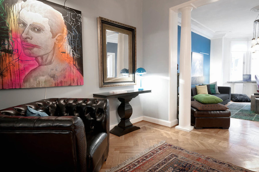 Art collectors apartement Stockholm