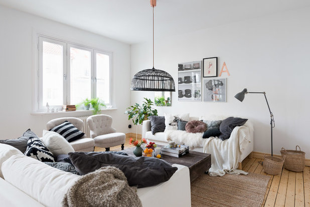 Scandinavian Family  Room by Annie Hillgren, AB Upmake