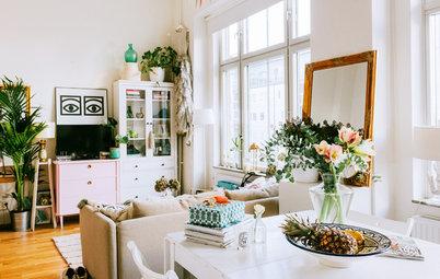 Kära prylar hemma hos Josefin Dahlberg i den gamla pianofabriken