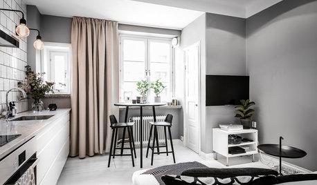 Underverk på små ytor – Sveriges smartaste hem under 40 kvadratmeter
