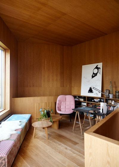 Contemporáneo Sala de estar by Mia Mortensen Photography