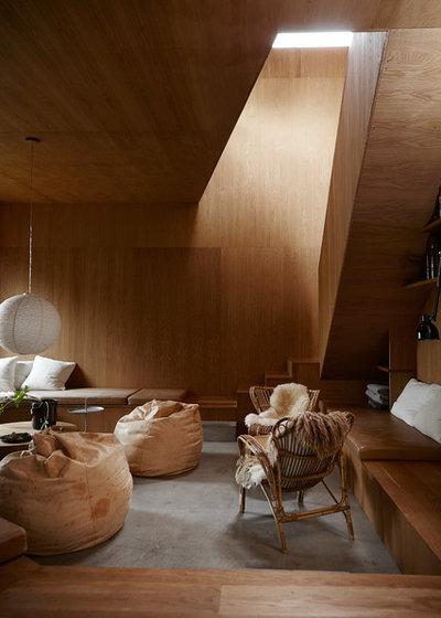 Moderno Sala de estar by Mia Mortensen Photography
