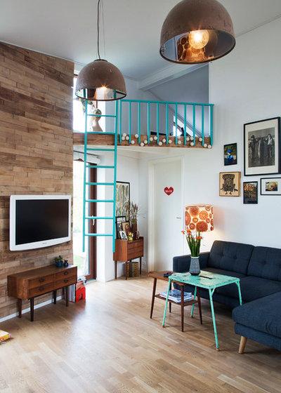 Scandinavian Family & Games Room by Fotograf Camilla Stephan