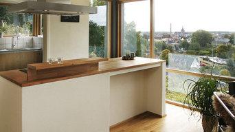 Køkken - alrum med udsigt