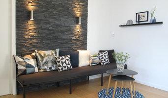 Lounge i køkken/alrum