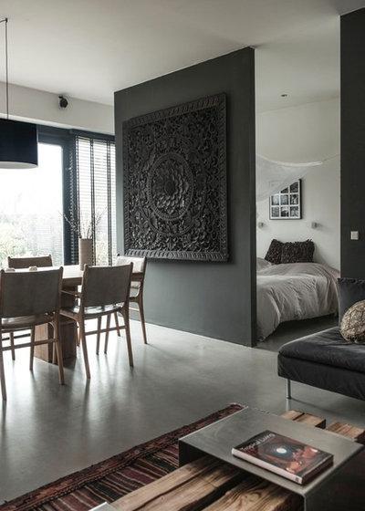 Moderne Salle de Séjour by Living Luxury