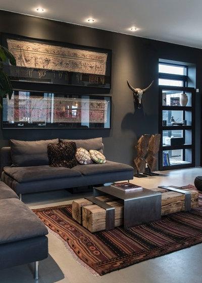 Montagne Salle de Séjour by Living Luxury